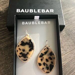 Baublebar Tortoiseshell Drop Earrings in Box